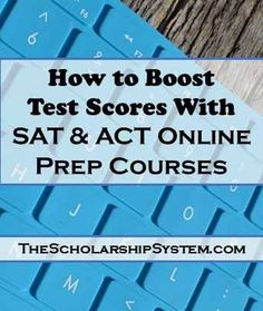 Tips on how to boost your SAT and ACT test scores with online prep courses Students turn to SAT & ACT online prep courses to improve scores for college admissions. Here is what you need to know including info about free prep courses College Majors, College Hacks, Education College, College Scholarships, Higher Education, Physical Education, Elementary Schools, Act Testing, Act Prep
