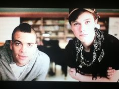 haha I love this picture of puck and kurt :)