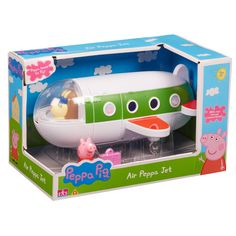 Shop for Peppa Pig 06227 air Peppa Jet Figure. Starting from Choose from the 5 best options & compare live & historic toys and game prices. Papa Pig, Little Girl Toys, Toys For Girls, Little Girls, Toddler Toys, Kids Toys, Boy And Girl Shared Bedroom, Pig Character, Baby Event