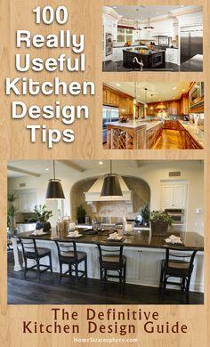 100 Kitchen Design Tips Guide