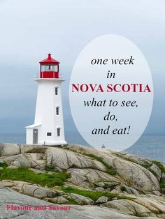 Suggestions for one week in Nova Scotia--what to see, do and eat in the beautiful Canadian Maritime province of Nova Scotia. Where to stay and where to eat! Nova Scotia Travel, Visit Nova Scotia, Nova Scotia Tourism, East Coast Travel, East Coast Road Trip, Prince Edward Island, Lunenburg Nova Scotia, East Coast Canada, Ottawa