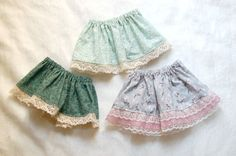 Lace Trimmed Skirt for Kids