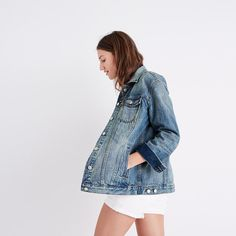 Image result for madewell oversized jean jacket