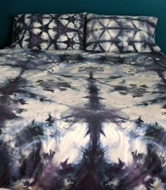 Another Shibori Tie Dye bed, so lovely! » Upstate Love, Adorned
