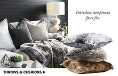 Morgan & Finch Throws & Cushions