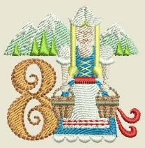 Eight Maids Charm Christmas Star, Christmas Pillow, 12 Days Of Christmas, Christmas Ideas, Hand Embroidery Designs, Embroidery Applique, Machine Embroidery, Embroidery Patterns, Star Blocks