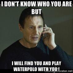 water polo meme - Google Search