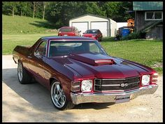 1971 Chevrolet El Camino SS 454 CI, Automatic presented as lot S110 at St Charles, IL 2012 - image1