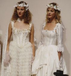 90s Fashion, Runway Fashion, High Fashion, Fashion Show, Fashion Outfits, Fashion Design, Boho Wedding Dress, Wedding Dresses, Lolita Lempicka