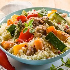 Couscous au Companion - The Best Diet Recipes Couscous Express, Vegetable Couscous, Vegetable Stew, Prep & Cook, Cracked Wheat, Cholesterol Lowering Foods, Cholesterol Symptoms, Cholesterol Levels, Bean Stew