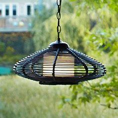 Outdoor Spaces, Outdoor Living, Solar Chandelier, Canadian Tire, Outdoor Entertaining, Backyards, Outdoor Furniture, Outdoor Decor, Wicker
