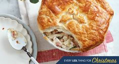 Turkey, Smoked Bacon and Leek Pie