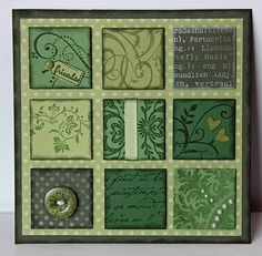 Use clover images for some of the squares fo St. Patrick's Day