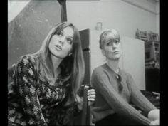 Françoise Dorléac & Catherine Deneuve - Les Demoiselles de Rochefort, behind the scenes.