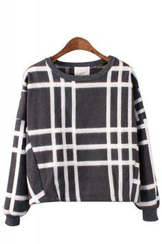 Grid Pullover