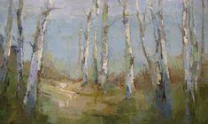 Path Among Birch
