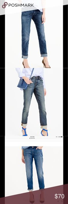 "NWOT! J. Crew Broken in Boyfriend Jeans 👖! ""The Jean of the Season "" NWOT, sold out! 👖 J. Crew Broken in Boyfriend Jeans, size 29! Awesome jeans, very soft 😀 ! J. Crew Jeans Boyfriend"