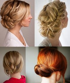 Wedding hair  Up do Formal  Bridal