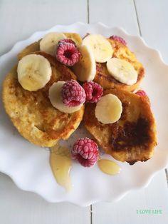 Śniadania - I LOVE LIFE Breakfast Ideas, Pancakes, Food, Morning Tea Ideas, Essen, Pancake, Meals, Yemek, Eten