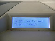 printers, now available with attitude!