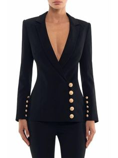 business attire for women Business Outfits, Business Attire, Business Fashion, Suit Fashion, Look Fashion, Fashion Dresses, Ladies Fashion, Fashion Coat, Classy Outfits