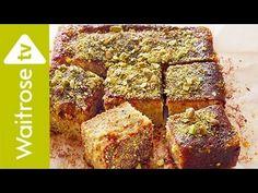 Sticky Pistachio Cake with Seville Orange Syrup | Waitrose - YouTube