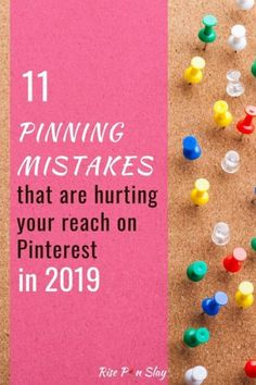 11 Pinterest Mistakes That Are Hurting Your Reach in 2019. Don't do these pinning practices if you want to be successful with your Pinterest marketing efforts. #pinteresttips #pintereststrategy #pinterestmarketing #pinterestvirtualassistant #digitalmarketing Marketing Words, Marketing Strategies, Overcoming Adversity, Project Board, Pinterest For Business, Business Website, Virtual Assistant, Pinterest Marketing, Slay