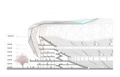 Japan National Olympic Stadium Competition - Jakupa Architects