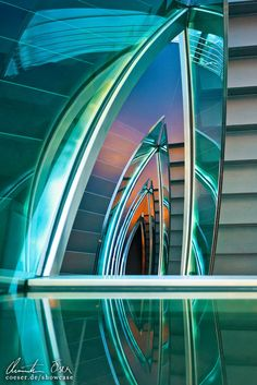 Hangar Seven Staircase 02 by Nightline.deviantart.com on @deviantART