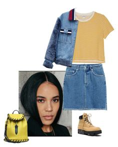 """""""Untitled #139"""" by jdjmacpherson on Polyvore featuring Acne Studios, Monki, Jamie Wei Huang and StreetStyle"""