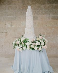 Using a combination of tier heights, complementing shapes and subtle shading are beautiful ways of adding detail, depth and interest. My… Tall Wedding Cakes, Beautiful Wedding Cakes, Beautiful Cakes, Destination Wedding Inspiration, Destination Wedding Planner, Taupe Wedding, Luxury Wedding, Big Indian Wedding, Decadent Cakes