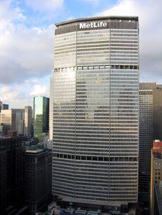 Walter Gropius - Pan Am building, today, MetLife Building, New York