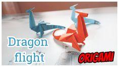 Origami for kids Dragon flight 2020