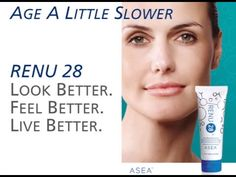 Another NEW VIDEO about RENU 28 powered by ASEA (redox signaling molecules for skin) www.sharingnaturesbest.teamasea/com