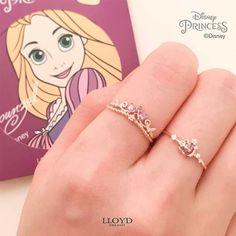 Disney Inspired Rings, Disney Rings, Disney Princess Jewelry, Disney Jewelry, Cute Jewelry, Jewelry Accessories, Casual Rings, Accesorios Casual, Cute Rings
