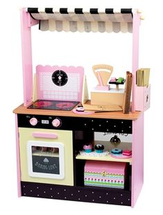 kidkraft 53179 jeu d 39 imitation cuisine vintage rose jeux et jouets louise. Black Bedroom Furniture Sets. Home Design Ideas