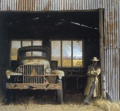 Interior Landscape 1 by Barry Ross Smith - imagevault.co.nz