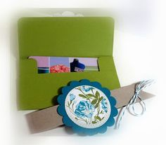 Me, My Stamps and I: Gift Card Holder
