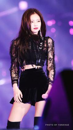 Jennie-BLACKPINK 171225 SBS Gayo Daejeon 2017
