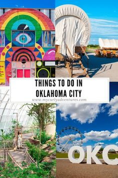 There are so many incredibly unique things to do in Oklahoma City from urban white water rafting sleeping in a Conestoga wagon experiencing a Scandinavian spa and more Keep reading to see all of the unique things to do in Oklahoma City Bricktown Oklahoma City, Tulsa Oklahoma, Travel Oklahoma, Oklahoma Sooners, Kansas City, Thunder Oklahoma, Lawton Oklahoma, Stillwater Oklahoma, New York Travel