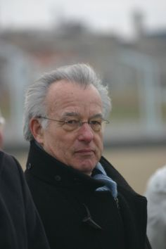 the Mayor of The Haque Jozias van Aartsen was also present at the practice for the celebration (picture taken 28-11-13)