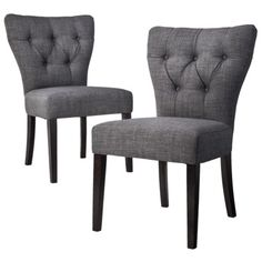 tufted chair.