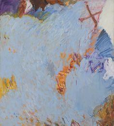 'Stove', 1959, oil on linen, 77 x 69 inches. Pat Passlof