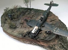 Wrecked Bf-109