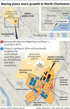 Boeing plans doubling of South Carolina facilities | The Seattle Times