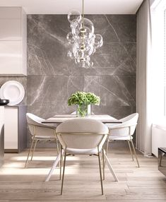 Get inspired by these dining room decor ideas! From dining room furniture ideas, dining room lighting inspirations and the best dining room decor inspirations, you'll find everything here! Luxury Dining Room, Dining Room Lighting, Dining Room Design, Dining Rooms, Modern Dining Room Furniture, Kitchen Lighting, Luxe Decor, Bubble Chandelier, Chandelier Ideas