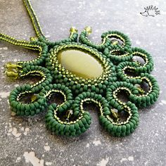 Octopus forest by Mar-max, via Flickr  #beadwork