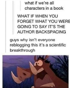 Life is a book! Disney Pumba funny Mind blown theory
