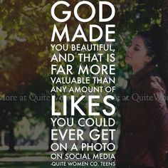 """""""So God created man in his own image, in the image of God he created him; male and female he created them."""" - Genesis 1:7 // christian teen quote girl young woman christianity faith God Jesus Christ dating purity insecurity self worth confidence social media blog for teen girls magazine quite women"""