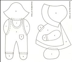 Pattern For Sunbonnet Sue And
